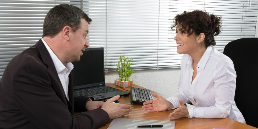 Employer talking about how to build trust with employees